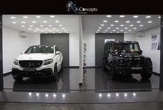 Which one would u choose? #Brabus #G850 or #GLE700 #xconcepts_autospa #uaesupercars #supercar #mercedesbenz #mercedesdubai #G63 #myabudhabi #mydubai by xconcepts_autospa