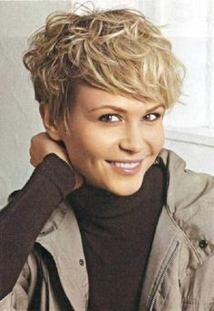 very short hairstyles for thick