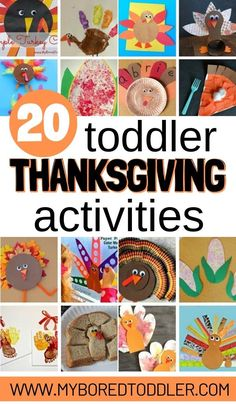 Thanksgiving Crafts for Toddlers Easy thankgiving. - Thanksgiving Crafts for Toddlers Easy thankgiving craft and activity ideas for toddlers aged and 3 year olds - great toddler Thanksgiving crafts and activities to do at home. Fun Activities For Toddlers, Infant Activities, Sensory Activities, Educational Activities, Family Activities, Easy Toddler Crafts, Diy Crafts For Kids, Daycare Crafts, Baby Crafts