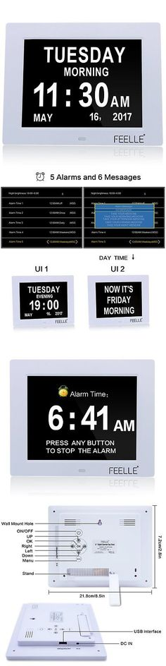Alarm Clocks 79643: New Upgrade Day Clock, Feelle Memory Loss Digital Alarm Clock Wall Clock Desktop -> BUY IT NOW ONLY: $56.68 on eBay!