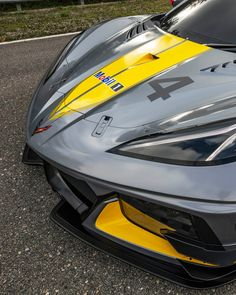 The Corvette race car has been revealed, and the big news is its flat-plane-crank DOHC Find out what it means for the right here! Sports Car Racing, Race Cars, Mustang Tuning, Star Wars Spaceships, Custom Muscle Cars, Café Racers, Big News, Social Marketing, James Bond