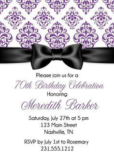 adult birthday invitations - Google Search