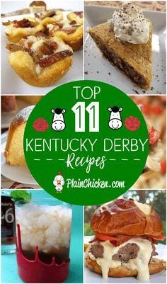 Kentucky Derby Food, Kentucky Derby Outfit, Derby Attire, Kentucky Derby Party Ideas, Derby Outfits, Derby Dinner, Kentucky Hot Brown, Bourbon Kentucky, Derby Recipe