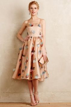 The Vida Circlet Dress by Rachel Antonoff is vintage-inspired and aces party attire.