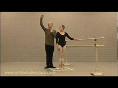Ballet for beginners - Correct Stance & Posture - Great for color guard posture and movement basics
