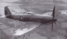 Hawker Tempest III prototype LA610, Rolls-Royce Griffon II B engine