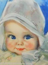 Vintage Baby Pictures, Baby Images, Children Images, Sweet Drawings, Mother Pictures, Baby Illustration, Doll Painting, Artists For Kids, Vintage Scrapbook