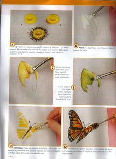 Flor com borboleta 3