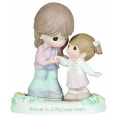Precious Moments Forever In A Mother's Heart Figurine