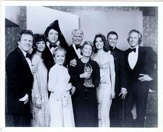 Original Dallas cast in 1980