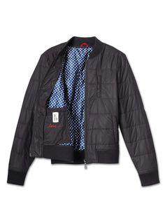 ED Quilted Nylon Zip Jacket