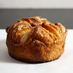 An attempt at another famed French pastry- the buttery and sweet kouign amann.