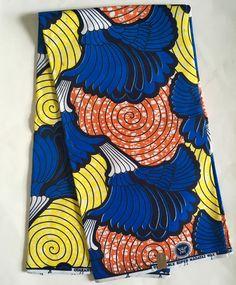 House of Mami Wata African Print Fabrics https://www.etsy.com/listing/491710147/african-print-fabric-ankara-blue-yellow