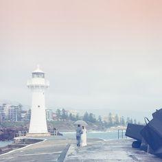 Andrea and Bryces Romantic Rainy Wedding