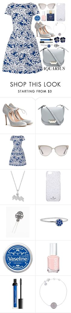 """""""It's a Sign Outfit"""" by ohsosartorial on Polyvore featuring Gianvito Rossi, ZAC Zac Posen, Oscar de la Renta, Tom Ford, Harry Winston, Kate Spade, Free People, Jennifer Meyer Jewelry, Therapy and Essie"""