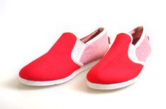 Toms women shoes with university red