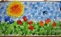 2d82e62473d49d87337d4306175e333e Spring Painting, Spring Art, Spring Crafts, Octopus Crafts, Kindergarten Art Projects, Ecole Art, School Decorations, Spring Activities, Hand Art