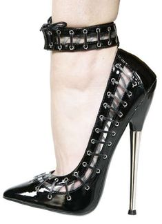 """Killer Heels IV - This is another installment in our """"killer heels"""" series. Designed by Patricia Field, these ridiculously high heel..."""