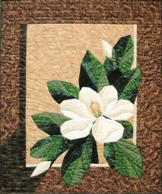 Magnolia Paper Pieced Quilt Pattern Designer Workshop