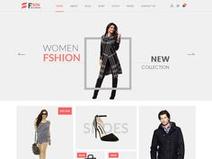 Fson  New Fashion eCommerce PSD Template