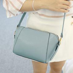 SUOAI 2016 새로운 여름 스타일 여성 쉘 가방 패션 Pu 여성 어깨 가방 여자 파티 메신저 가방