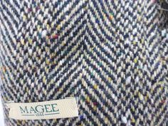 Donegal Tweed wool cloth outer with quilted lining for superior warmth. Magee Corrib Quilted Overcoat. Raglan cut sleeve -Allows for a suit jacket underneath. | eBay!
