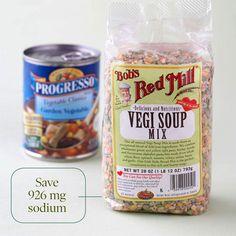 low sodium meals | Low-Sodium Food Swaps