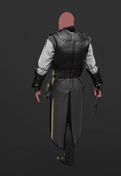 A few things that have come about whilst teaching myself Marvelous Designer recently. Everythings been created within MD except the swords. I'm including images of the patterns just in case they could be of help to anyone. Design of the armour heavily Witcher Armor, The Witcher, Armor Concept, Concept Art, Medieval Clothing, Character Modeling, Cosplay Outfits, Costume Design, Just In Case