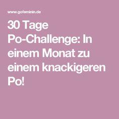 30 Tage Po-Challenge: In einem Monat zu einem knackigeren Po!