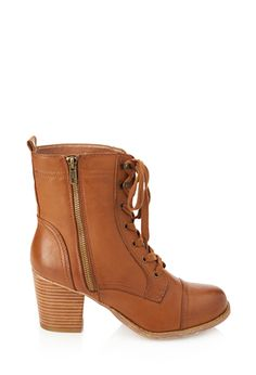 Lace-Up Combat Boots | FOREVER21 - 2055879969