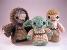 PATTERN for Yoda  Star Wars Mini Amigurumi by lucyravenscar, $3.50