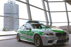 BMW M5 Police Car Revealed