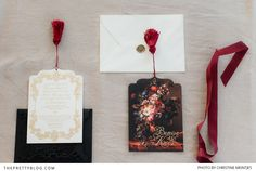 Wrapping up Marsala Musings Wedding Stationery Inspiration, Color Of The Year, Pantone Color, Marsala, Earthy, Color Splash, Save The Date, Gift Wrapping, Invitations