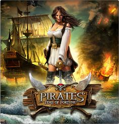 "Pirates:  ""#Pirates ~ Tides of Fortune."""