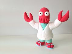 Zoiberg Jumping Clay (gift idea for Andy's desk)