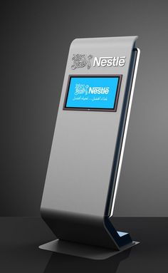 Nestle Touch Screen stand on Behance