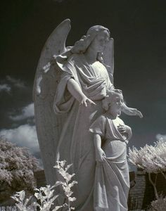guardian angel statue images - Google Search