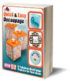 Quick and Easy #Decoupage #eBook from Plaid