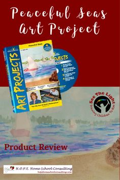 See the Light's Peaceful Seas Art Project Product Review by Angie at H.O.P.E. Home School Consulting