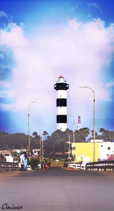 Lighthouse by SelvaBalaji Selvarasan Blur Image Background, Desktop Background Pictures, Photo Background Images Hd, Studio Background Images, Editing Background, Picsart Background, New Backgrounds, Lights Background, Girl Background