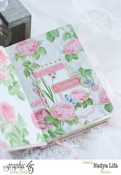 Botanical Tea Notebook. Graphic 45 my everyday love !!! Love for notebooks))