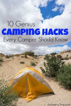 10 Genius Camping Hacks & Tips Every Camper Should Know