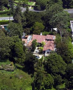 This house in Brentwood is owned by Dylan McDermott, who bought it last year from Antonio Banderas and Melanie Griffith for $4.5 million. They originally purchased the home from Michelle Pfeiffer.