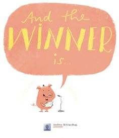 Glücksschweini war gestern Abend sehr beschäftigt, weshalb wir erst heute zur Ziehung des Gewinners kommen konnten. Erst einmal vielen, viel...