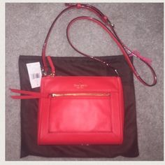PRICE FIRM - BUY NOW -KATE SPADE BAG. NWT CHERRY KATE SPADE BAG. NWT CHERRY        ❌TRADES❌ kate spade Bags