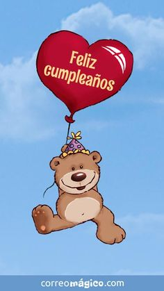 Muy feliz cumpleaños Happy Birthday In Spanish, Happy Birthday Brother, Unique Birthday Wishes, Happy Mothers Day Images, Embroidery Alphabet, Bday Cards, Happy Birthday Greetings, Fiesta Party, Lets Celebrate