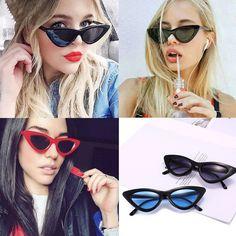 70a4a5908450a Women s Retro Cat Eye Sunglasses Classic Fashion Ladies Vintage Eyewear  Summer. Óculos De Sol ...