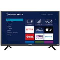 Westinghouse WR32HB2200 32-Inch Smart Roku LED HDTV $99.99 (33% off) @ Best Buy Tv Game Console, Tv Built In, Sling Tv, Rules For Kids, Netflix Tv, Electronic Deals, Tv App, Smart Home Technology
