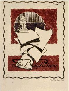 The Rag Pickers - M.C. Escher, 1918