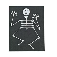 Halloween+Cotton+Swab+Skeleton+Idea+-+OrientalTrading.com